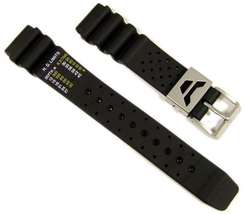 Citizen Marken Ersatzband Uhrenarmband Kautschuk 19mm für Promaster Diver Aqualand AL0020-07E