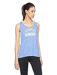 Under Armour Women´s Tank Top 1290612-437 Blue-white Eu S