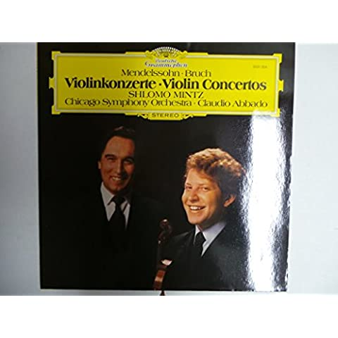 MENDELSSOHN-BARTHOLDY, Felix: Violin Concerto in E minor, op.64 - BRUCH, Max: Violin Concerto -- DEUTSCHE GRAMMOPHON (1981)Mintz S. (vl), Chicago Symphony Otchestra, Abbado C. (cond)DGG 2531304