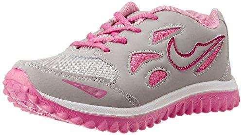 Shoes T20 Women's Grey & Pink Running Shoe