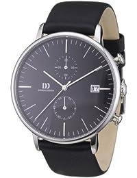 Danish Design Herren-Armbanduhr XL Analog Quarz Leder 3314401