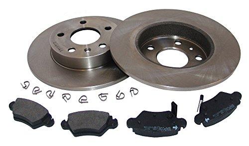 MAPCO 47678 Bremsscheiben mit Bremsbelägen