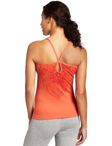 prAna–Damen Avery Top burnt orange