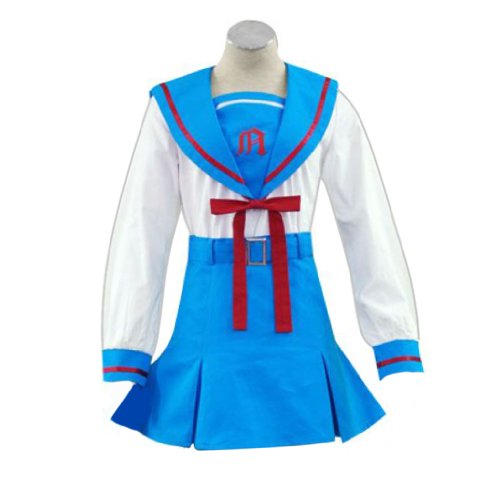 Dream2Reality japanische Anime The Melancholy of Haruhi Suzumiya Cosplay Kostuem - Senior High School Winter Uniform X-Large