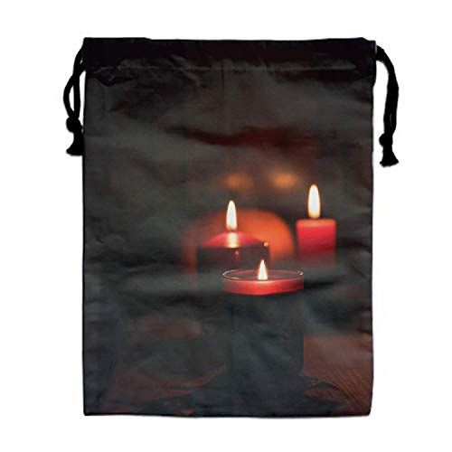 Travel Organisers Candle Halloween Packing Suitcase Clothes Underwear Shoes Laundry Makeup Toiletries