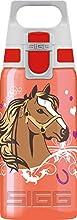 SIGG VIVA ONE Horses Gourde Enfant (0.5 L), Petite bouteille sans BPA et sans solvants avec bouchon de sécurité, Gourde en aluminium ultra-résistante