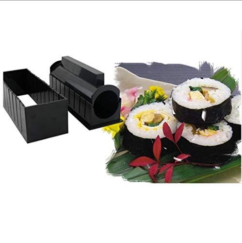 Clahshop LUPSO - Kit per Sushi Maki, Completo di Accessori da Cucina  Giapponese, 11 Pezzi, con Coltello Esperto per Sushi, per Cucinare Riso,  Libro di ...