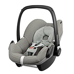 Maxi-Cosi Pebble Car Seat Without ISOFIX, Combine with FamilyFix Base for ISOFIX Installation, Birth to 1 Year, Grey Gravel   6