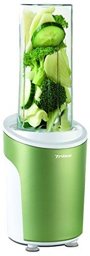 Trisa Electronics Power Smoothie Batidora de vaso 0.6L 450W Verde, Transparente - Licuadora 0,6 L...