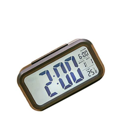 Flushzing Reloj Despertador multifunción electrónica