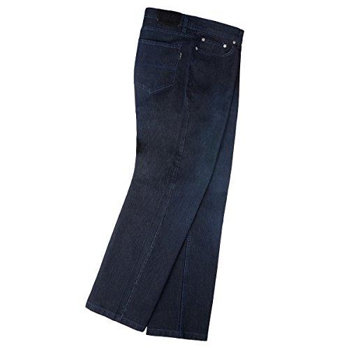 Lucky Star Stretch Jeans Custer blue black Übergröße Schwarz