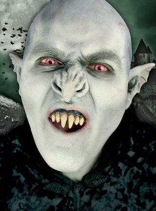 Karneval / Fasching / Kostüm - - Nosferatu Kostüm Zähne