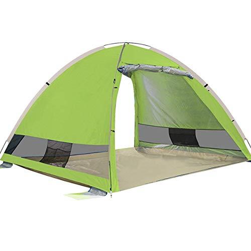 G4Free Outdoor Automatik Pop Up Beach Zelt Instant Gro?e Familie Cabana 3-4 Person Anti UV Sonne Schutz (Zelte Instant)