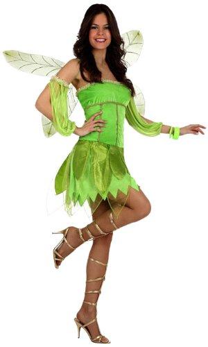 Tinker Kostüm Bell - Atosa 12294 - Kostüm Herbstfee, Größe 34-36, grün