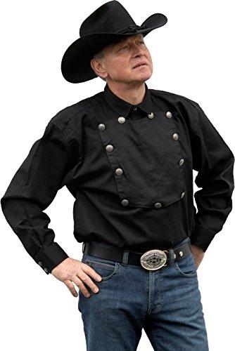 Country Westernhemd John Wayne von Running Bear Größe L - Cowboyhemd Wild West Line Dance Kleidung (Wild Kleidung Wild West)