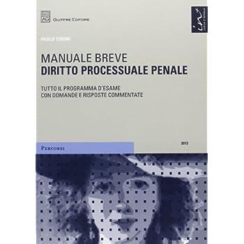 Diritto Processuale Penale. Manuale Breve
