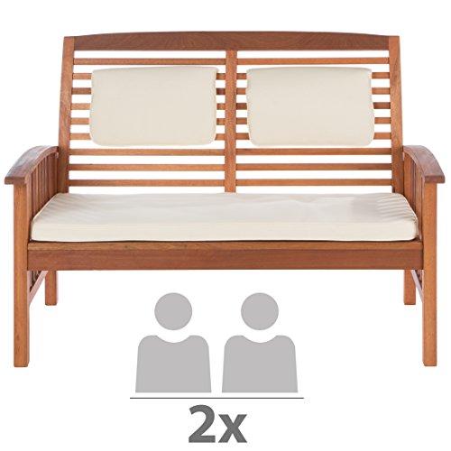 ultranatura loungebank 2 sitzer canberra serie edles und hochwertiges eukalyptusholz 19 cm x. Black Bedroom Furniture Sets. Home Design Ideas