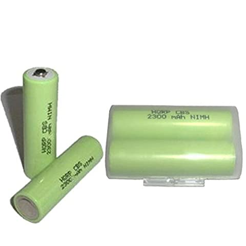 HQRP 4-Pack Ni-MH AA Rechargeable Batteries for Canon NB-1AH NB-2AH