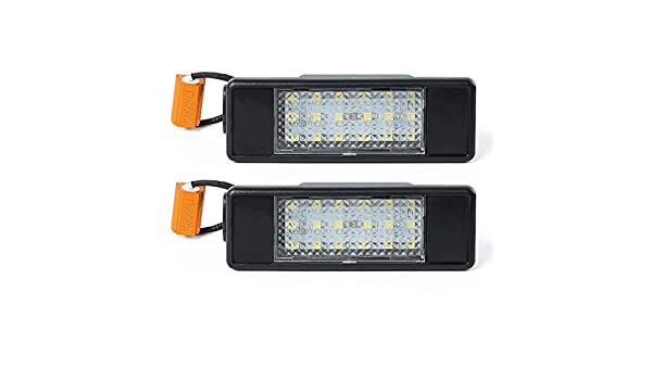 2003-2015 2003-2015 Vito Lopbinte 2Pcs Led Number License Plate Light For Mercedes Sprinter W906 W639 2006-2016 W639 Viano