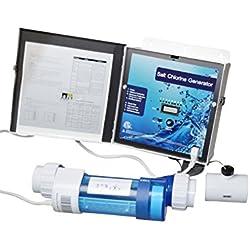 SPIRATO Salzanlage für Pool - Salzwassersystem mit Titanzelle, selbstreinigend