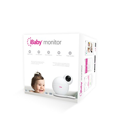 iBabyCare M6S 1080P Video Wifi Baby Monitor ( 3rd Generation with Air Quality Detection) , Baby Monitor Camera with Temperature/Humidity Sensor, Night Vision, Baby Phone with Sound/Motion Alert, 2 Way Audio, White