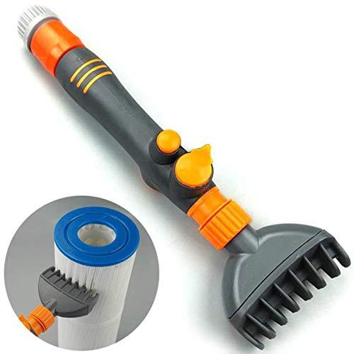 LZH FILTER Spa Filter Cartridge Cleaner Entfernt Schmutz für Standard-Gartenschläuche - Spa Cartridge Filter Cleaner