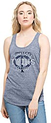 MLB Minnesota Twins Women's Splash Tank Top, Nightfall, Small