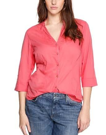 TRIANGLE Damen Regular Fit Bluse 18.403.19.4786, Gr. 54, Rosa (purple/pink)