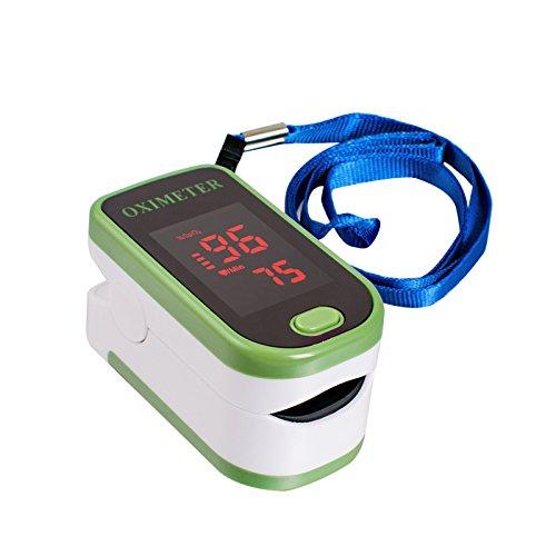 Denshine LED Pulsoximetro De Dedo – Monitor Spo2 y PR
