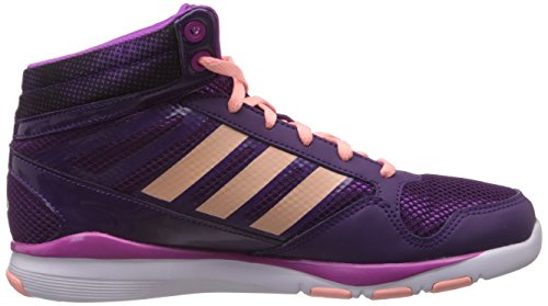 adidas Performance Dance Mid K D67293 Unisex - Kinder Sportschuhe - Fitness Violett (TRIBE PURPLE S14 / GLOW CORAL S14 / VIVID PINK S13)