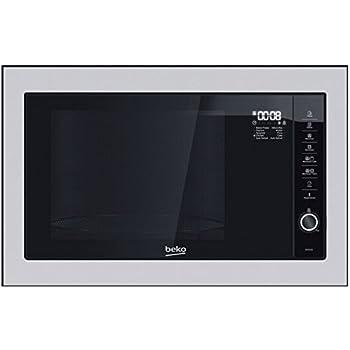 Beko MGB 25332 BG Intégré 25L 900W Noir, Acier inoxydable micro-onde - Micro -ondes (Intégré, 25 L, 900 W, Rotatif, Toucher, Noir, Acier inoxydable,  1000 W) 8ff3e3bbaa85