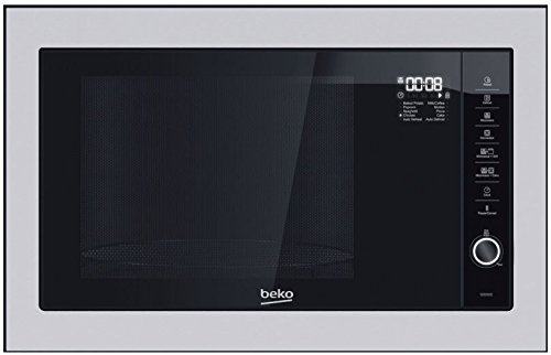 Beko MGB 25332 BG Intégré 25L 900W Noir, Acier inoxydable micro-onde - Micro-ondes (Intégré, 25 L, 900 W, Rotatif, Toucher, Noir, Acier inoxydable, 1000 W)