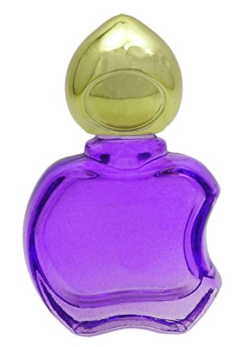10 ML Forme Violet verre vide Roll-on bouteilles de parfum balle en gros aromathérapie Roller bouteille 2 pièces