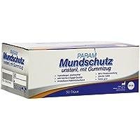 MUNDSCHUTZ 3lagig Typ2 unsteril m.Gummizug gr&#x00 50 St preisvergleich bei billige-tabletten.eu