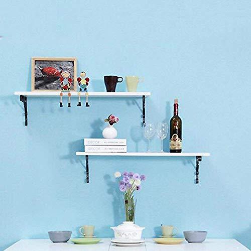 YT-ER Regale & Lagerung Schwimmregale Wand Wandregale für Schlafzimmer Wohnzimmer Badezimmer Küche Büro und mehr 60 * 25Cm / 80 * 35CM Robust Durable,80 * 35 cm (Lila Lagerung Würfel)