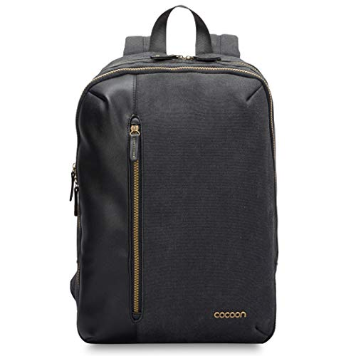 "Cocoon URBAN ADVENTURE SLIM - 16"" Laptop- & 10\"" Tablet Rucksack mit besonderem Organisationssystem / Backpack für Laptops / Daypack / Polsterung / Rucksack für Tablet, Laptop / Schwarz - 16\"" & 10\""Zoll"