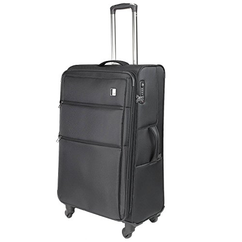 TITAN CLOUD 4w trolley expandable, 378404-01 Koffer, 79 cm, 112 L, Black -