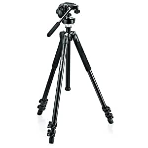 Manfrotto MK294A3-128RC Caméras numériques Noir trépied - trépieds (2,64 kg, Noir)