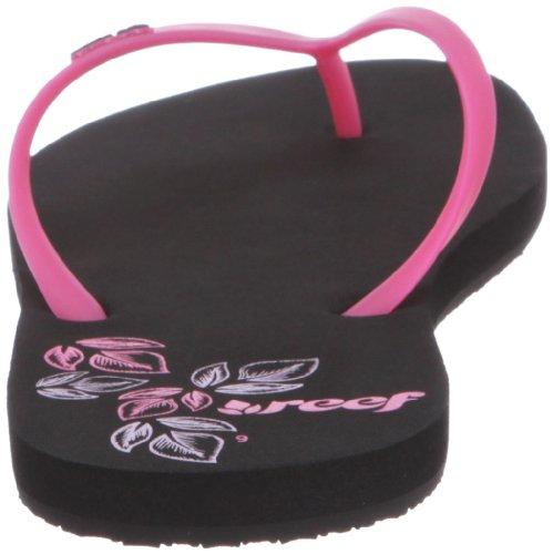 Reef Reef Ceejay, Tongs femme Noir (Black/pink)