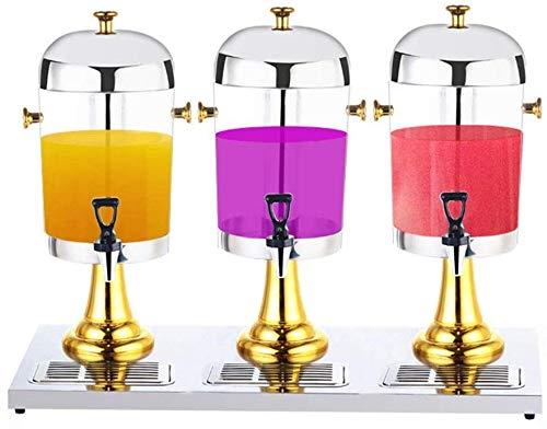 Saft-Zufuhr for Gewerbe Getränkezufuhr Getränkespender Juice Drink Dispenser Kühlschrank Maschine Cocktail Grillparty xtrxtrdsf (Color : Gold, Size : 87x35x58cm)