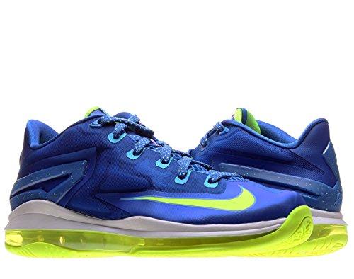 Nike Max Lebron XI Low (GS) Junior 644534-400 Bleu Bleu