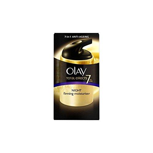 Olay Total Effects Hydratant Crème de nuit (50 ml) (Pack de 2)