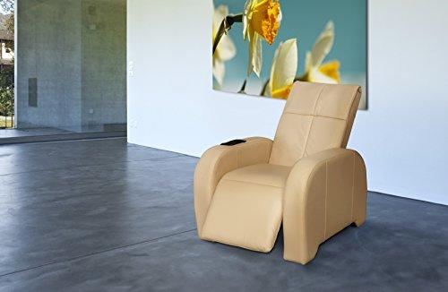 Massagesessel | Massagestuhl Leder beige Keyton Omega - Top Angebot von welcon.de