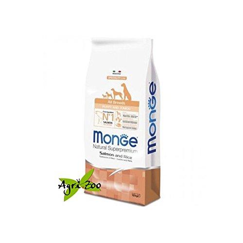 Preisvergleich Produktbild Monge Super Premium All-Breeds Puppy Salmone-Riso 12 Kg