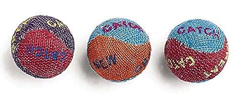 Ethische Cat Sackleinen Cat Balls 3 Pack - 2089