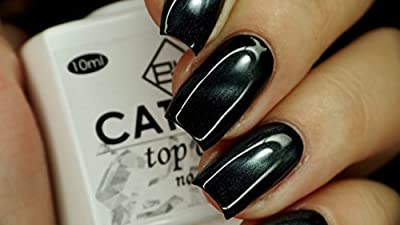 BW Top NO WIPE Soak Off UV LED Magnetic Cat Eye Color 3D Nail Gel Polish 10ml + Free Gift (Magnet Stick). YOU CAN USE ONTO ANY COLOR