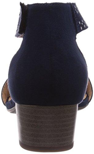 Jenny  Belluno, Sandales pour femme Bleu - Blau (blau 02)
