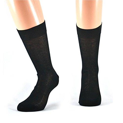 Italiane 12 paia di calze Fontana lunghe in caldo cotone elasticizzato a righe Vêtements pour homme