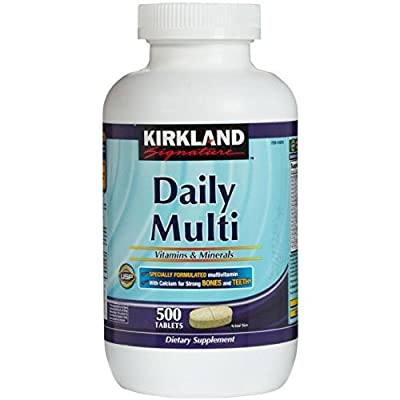 Costco Kirkland Signature Daily Multi Vitamins and Minerals Tablets - Pack of 500 from Costco