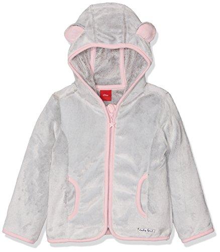 s.Oliver Baby-Mädchen Sweatshirt 56899430724, Grau (Grey Two Tone 94G1), 62